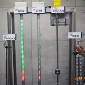 특허기술 LED 수위표시기, 실내용
